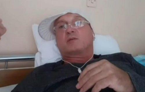 Miki Mećava već 12 dana u bolnici zbog korone: Počeo sam da ISKAŠLJAVAM KRV! (FOTO)
