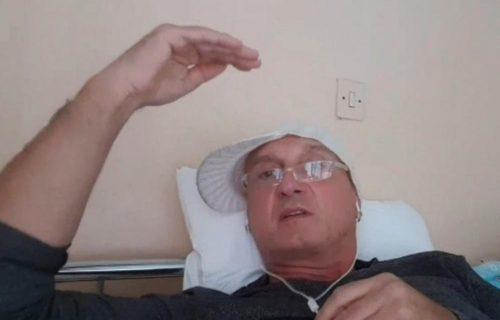 Pevač Miki Mećava pobegao iz kovid bolnice!