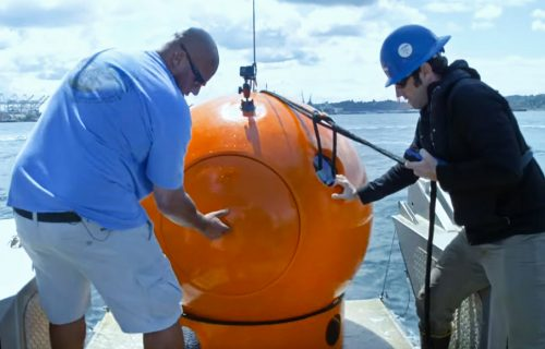 Zaključali su je u metalnu kapsulu i bacili u okean: Ovo će sutra nekome spasti život (VIDEO)