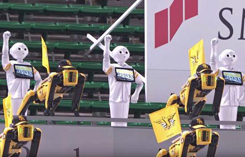 Spot i Pepper na novom zadatku: Japanci zamenili čirlidersice s robotima, možda nije trebalo (VIDEO)
