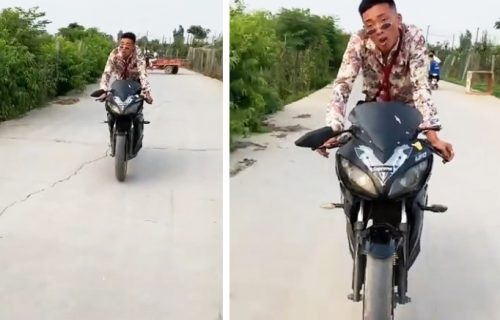 Kakva ljuta mašina! Kad vidite šta je pokreće - smejaćete se do suza (VIDEO)