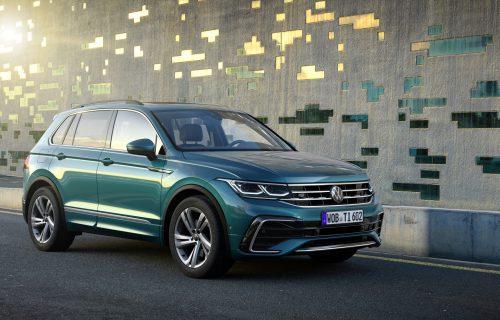 Redizajnirani VW Tiguan: Golfova svetla i nova tehnologija (FOTO)