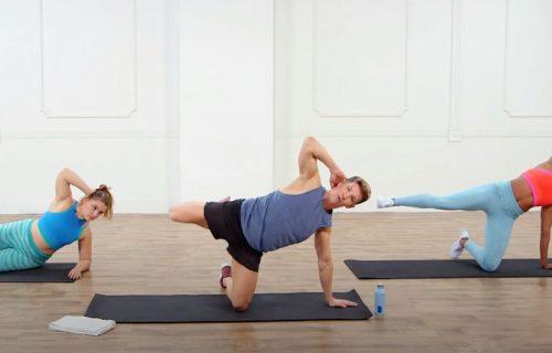 Za trbušnjake iz snova: 30 minuta žestokog treninga koji će prodrmati vaše telo (VIDEO)