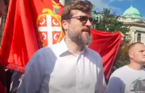 Uhapšen Srđan Nogo, pozivao na nasilnu promenu ustavnog uređenja