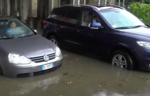 Italiju zadesila još jedna KATASTROFA: Milano pod vodom, jake kiše izazvale poplave (FOTO+VIDEO)