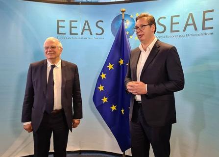 Evropska unija OPET ucenjuje Srbiju! Nove USLOVE izneo je Borel, evo šta Beograd mora da uradi