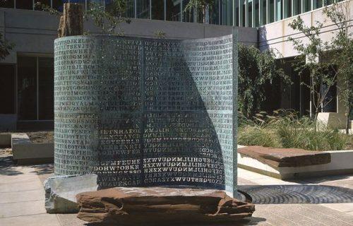 Tajanstveni kod im zadaje višedecenijske muke: Prava misterija na skulpturi u sedištu CIA