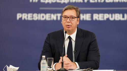 Vučić: Naravno da sam protiv seče šume, Košutnjak su pluća Beograda