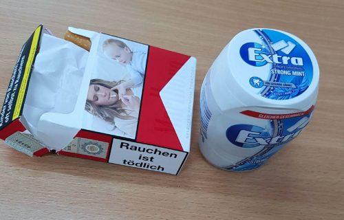 Carinici sprečili šverc narkotika: Droga u kutiji sa žvakama, paklici cigareta i među kozmetikom (FOTO)