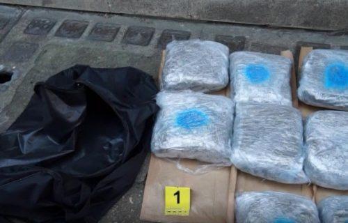 Krijumčarili drogu iz Albanije u Beograd: Pogledajte akciju srpske policije (VIDEO)