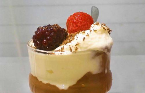 Slasni desert! Napravite crno-beli čokoladni mus (RECEPT+VIDEO)