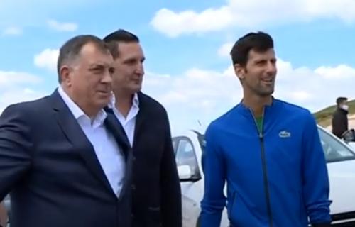 NEFORMALNI razgovor: Novak obišao Jahorinu i susreo se sa Miloradom Dodikom (VIDEO+FOTO)