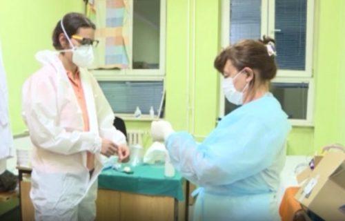 Sa lica mesta: Situacija unutar Opšte bolnice u Novom Pazaru u jeku epidemije (VIDEO)
