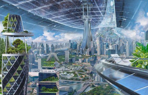 Mega gradovi i savršena klima: Najbogatiji Zemljanin ovako zamišlja kolonizaciju svemira (FOTO)
