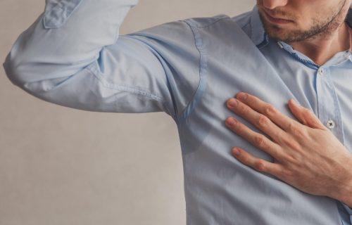 Više vam neće biti neprijatno: 6 načina da sprečite prekomerno ZNOJENJE ispod pazuha