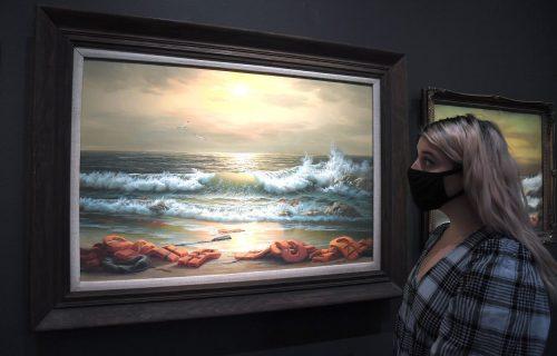Benksijev triptih na aukciji: Umetnik prikuplja 1,2 miliona funti za pomoć bolnici u Vitlajemu