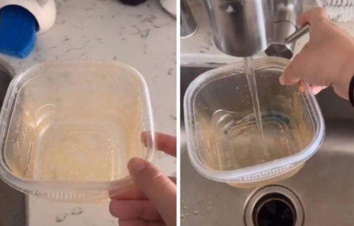 Ovako se vade FLEKE: Samo 3 sastojka su dovoljna da vaše plastične ČINIJE uvek budu kao nove (VIDEO)