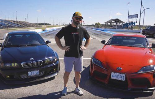 ZAMENJENE ULOGE: Toyota i BMW u uzbudljivoj trci ubrzanja (VIDEO)