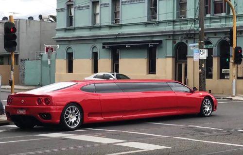 Ferrari za osam osoba! Najbrža limuzina na svetu traži kupca (VIDEO)