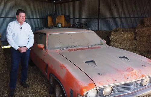 KAKVA MAŠINA! Trideset godina trunuo u ambaru, pa prodat za 180.000 evra (VIDEO)