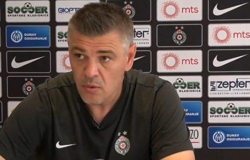 Milošević: Apsolutno me NE ZANIMA šta u Zvezdi misle o našoj utakmici u Kruševcu (VIDEO)