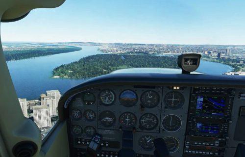 Microsoft Flight Simulator 2020: Pogledajte kako izgleda let iznad Beograda (VIDEO)