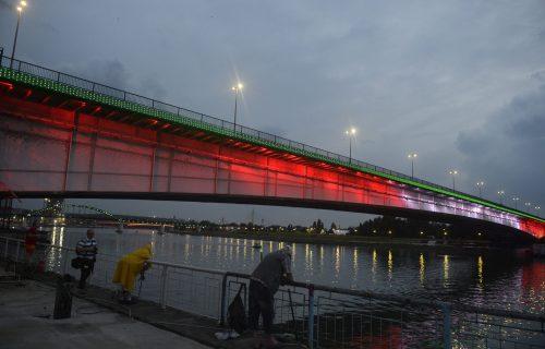Beograd večeras šalje SNAŽNU poruku: Srpska prestonica svetli u bojama zastave Libana (FOTO)