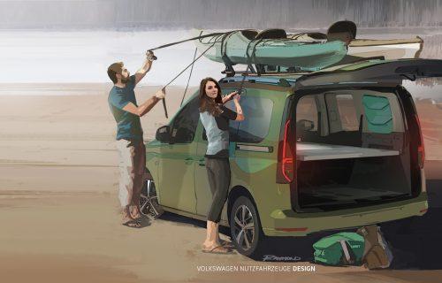 VW Caddy Beach: Mini-kamper za brzinski beg u prirodu (FOTO)