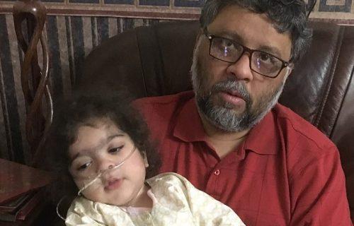 Da vam se zgadi život! Uhapsili i vukli uplakanog čoveka koji nije hteo da ostavi ćerku na SAMRTI (VIDEO)