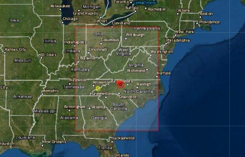 Snažan zemljotres potresao Severnu Karolinu, najjači u poslednjih 100 godina