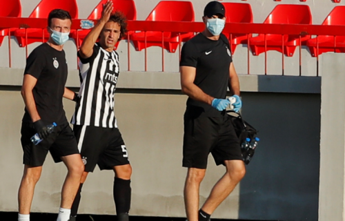 Ultrazvuk POKAZAO: Zna se šta je tačno povredio Lazar Marković (FOTO)