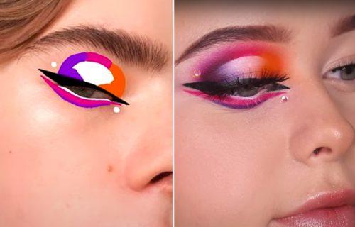 NACRTAJ MI kakvu šminku želiš: Izazov na društvenim mrežama koji oduševljava sve više ljudi (FOTO+VIDEO)
