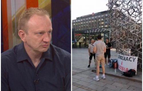 Novi FIJASKO Dragana Đilasa: Posle bojkota i rušenja Beograda, PROPALI mu i protesti u dijaspori (FOTO)