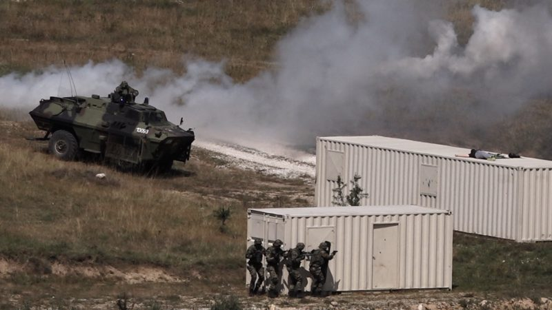 Obuka Petog bataljona vojne policije radi učešća u multinacionalnim operacijama (FOTO+VIDEO)