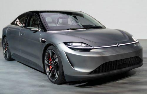 Vision-S ima budućnost: Sony testira električni automobil na putevima (VIDEO)