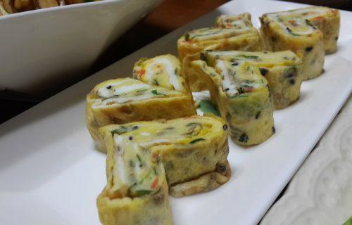 Brz doručak: Palačinke od jaja sa šunkom i kačkavaljem (RECEPT)