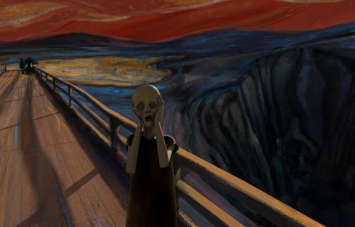 """Tajna poruka zapisana na Munkovom """"Vrisku"""": Evo šta je slikar želeo da sakrije"""