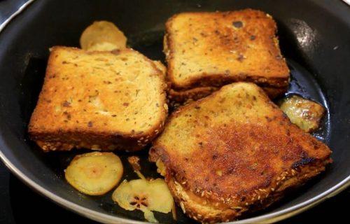 Slatki doručak: Dijetalni tost SENDVIČI sa kruškama za dobro jutro (RECEPT+VIDEO)