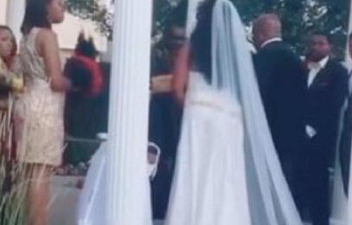 Nosim tvoje dete! Trudnica upala na venčanje i prestravila sve, a onda je skočila mladina ćerka (VIDEO)