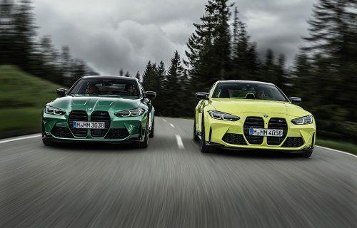 """Svetska premijera: BMW M3 i M4 dobili više snage i velike """"bubrege"""" (FOTO)"""