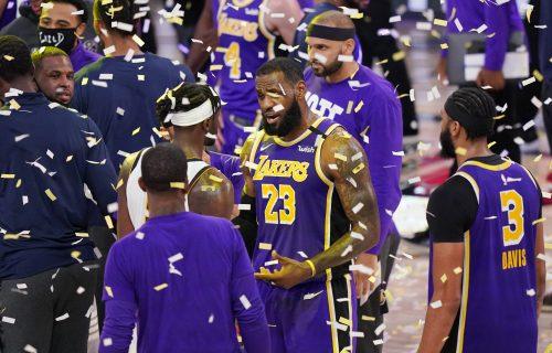 Moćni Džejms NEVEROVATNOM PARTIJOM razbio Denver i odveo Lejkerse u veliko NBA finale posle 10 godina