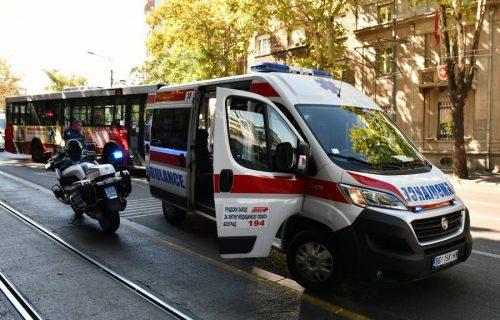 Stravična NESREĆA kod Ušća: Motociklisti nije bilo spasa, brzo je podlegao povredama