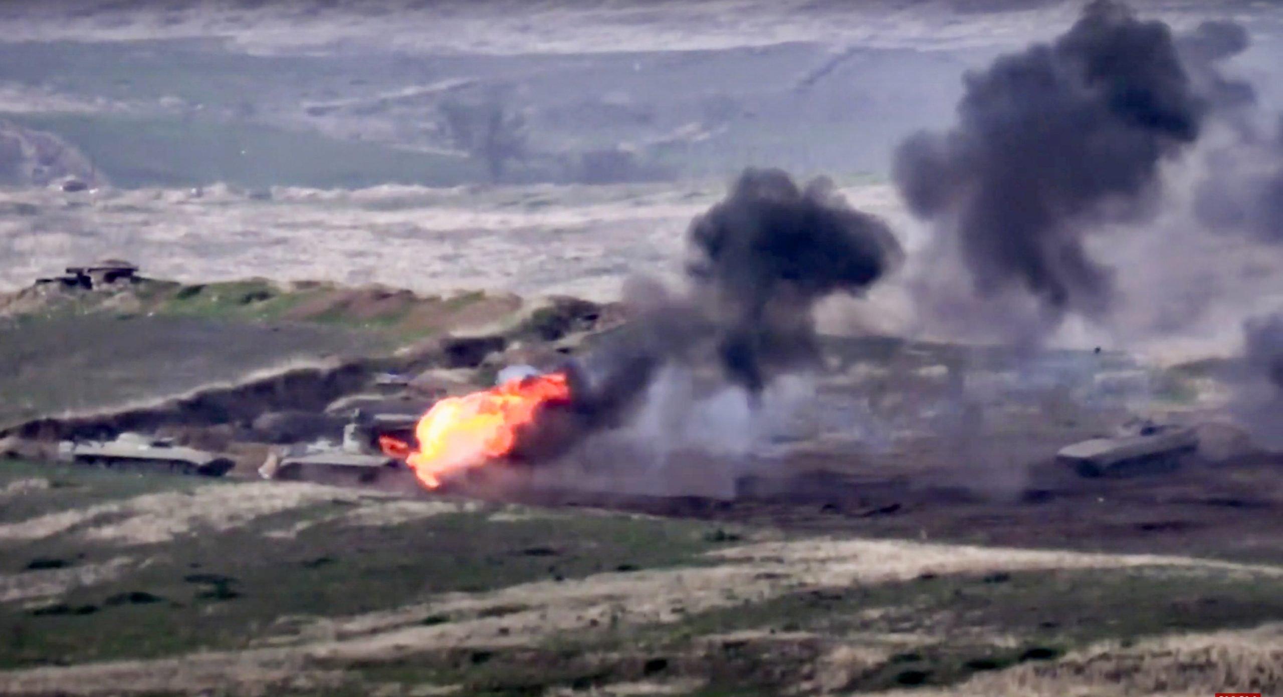 CRNI BILANS drugog dana rata! Vlasti Nagorno-Karabaha saopštile: Poginulo još 26 jermenskih vojnika