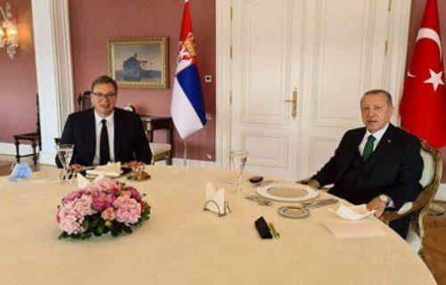 Vučić sa Erdoganom u Istanbulu! Na stolu su važne stvari za Srbiju i Tursku (FOTO)