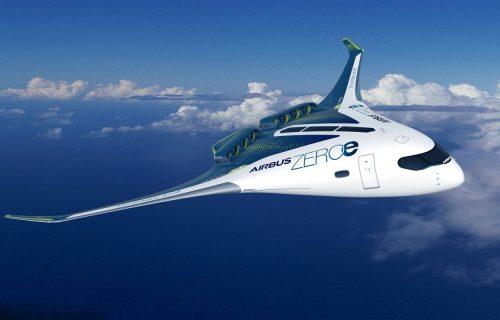 Tri letelice, nula zagađenja: Airbus predstavio budućnost industrije (VIDEO)