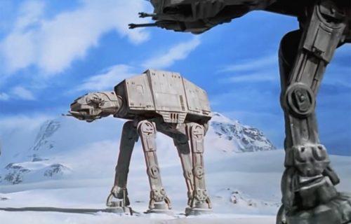 """Ovo nije fantastika! Vojska SAD razvijala je vozila, nalik robotima iz """"Ratova zvezda"""" (VIDEO)"""
