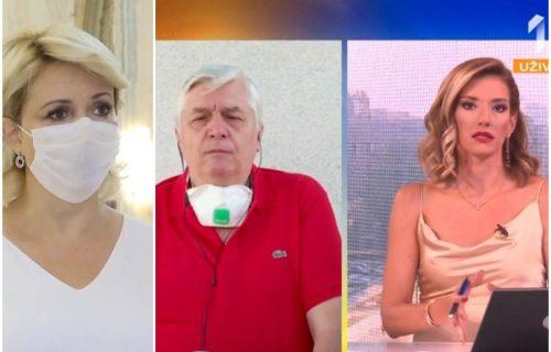 """HAOS u studiju TV Prva! Dr Darija umešala se u """"SVAĐU"""" Tiodorovića i Jovane Joksimović, letelo je PERJE"""