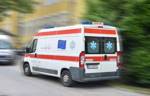 DRAMA u Beogradu: Teško povređen pešak, HITNO prevezen u Urgentni centar