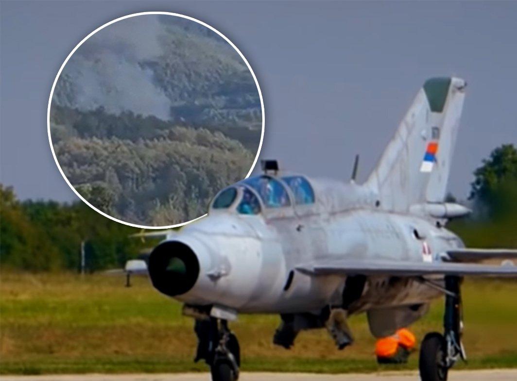 Otkrivamo šta se desilo pilotu i kopilotu! MIG 21 se sa neba obrušio stravično