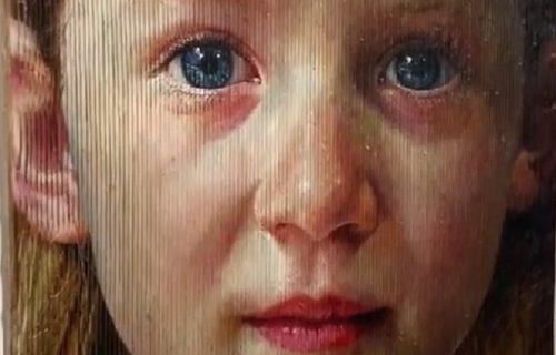 Tri životna doba, a JEDNA OSOBA: Samouki umetnik stvara portrete igrajući se sa vašim umom (VIDEO)